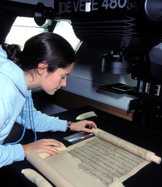 Digitization of a Dunhuang manuscript