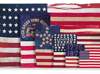 historical American flags