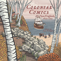 "cover image for ""Colonial Comics"""