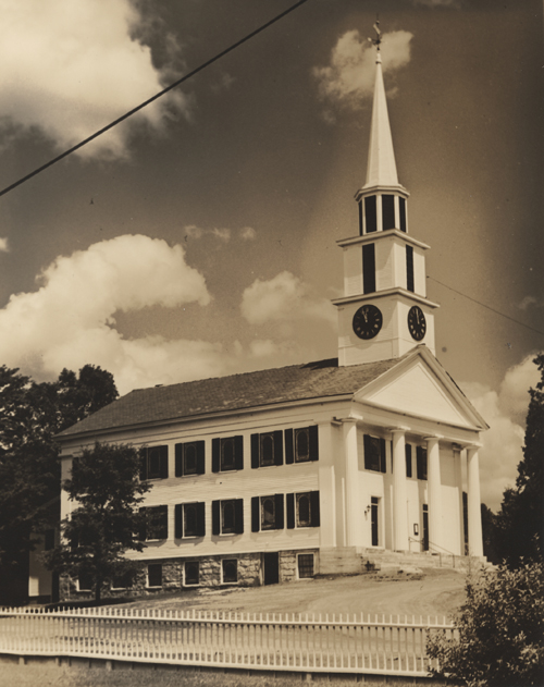 Bramanville Congregational Church, Millbury, Mass. by John Deane