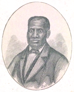 portrait of Thomas Jones, a former slave