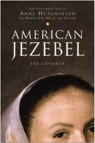 "cover image for ""American Jezebel"" by Eve LaPlante"