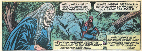 Spider-Man taunts Mather