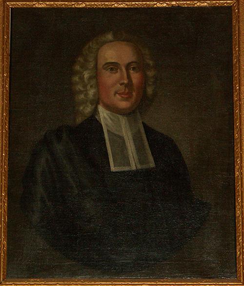 Jonathan Mayhew portrait by John Greenwood
