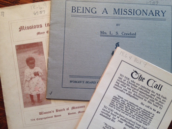 women's missionary pamphlets