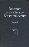 "cover image for ""Religion in the Age of Enlightenment"", vol. 2"