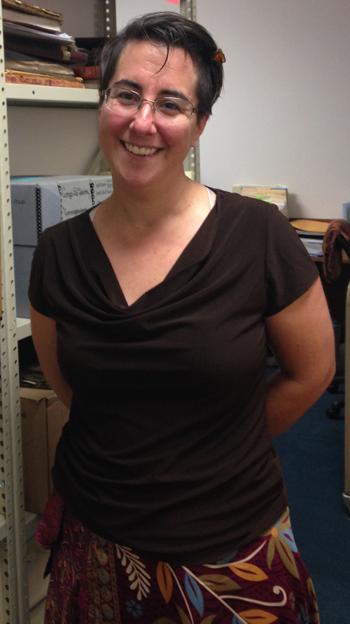 archivist Jessica Steytler