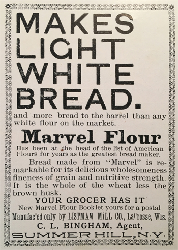 Marvel Flour advertisement