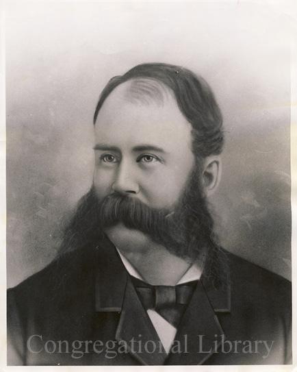 Joseph Ward: An image from a digital CLA exhibit of yestyear about mustachioed gentlemen
