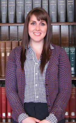 Mallory Wilson, spring 2014 library intern