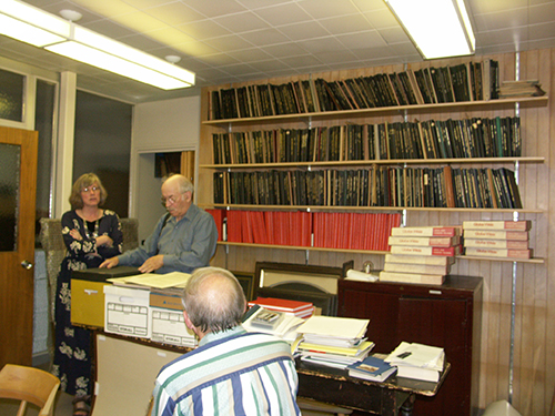 surveying a church's record collection