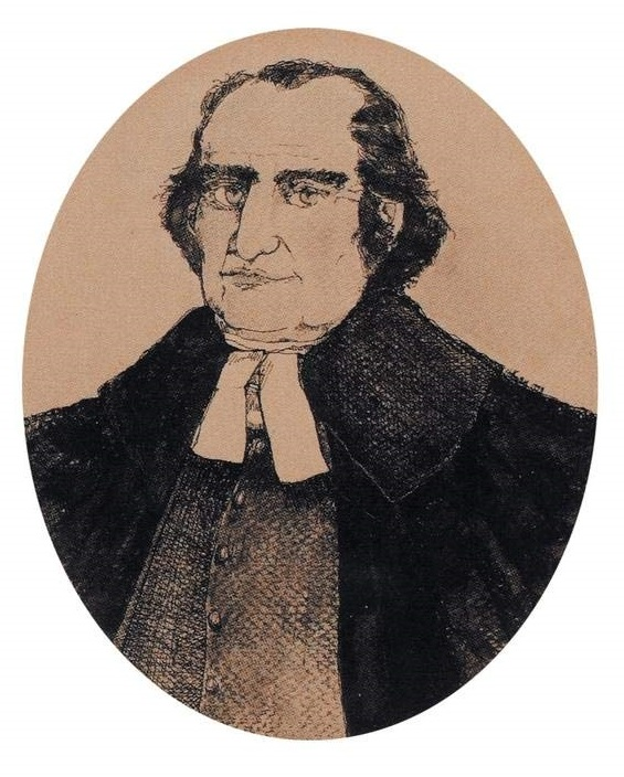 "depiction of Rev. Cleaveland from Christopher Jedrey's ""The World of John Cleaveland: Family and Community in Eighteenth-Century New England"""