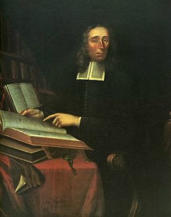 portrait of Increase Mather (1688) by Joan van der Spriet