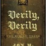 "cover image for ""Verily, Verily"""