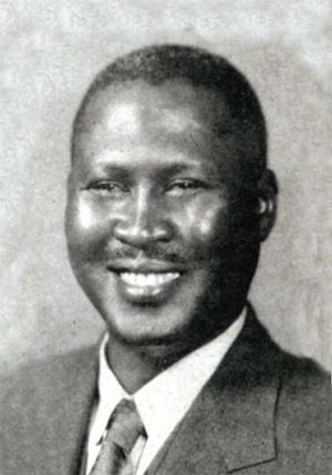 portrait of Albert Luthuli