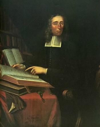 portrait of Increase Mather (1688) by Joan van der Spriet