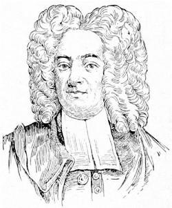portrait of Cotton Mather
