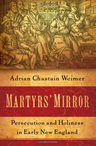 """cover image for """"Martyrs' Mirror"""""""