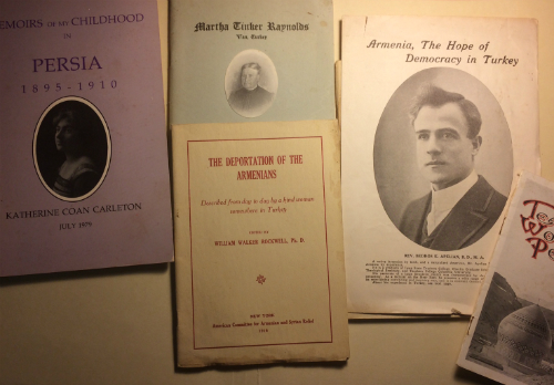 booklets on Armenia in the ACRNE collection