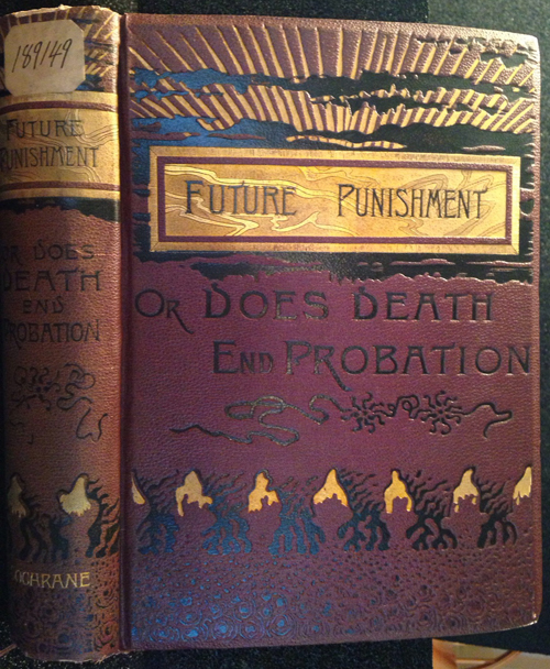 "cover of ""Future Punishment"" by William Cochrane"