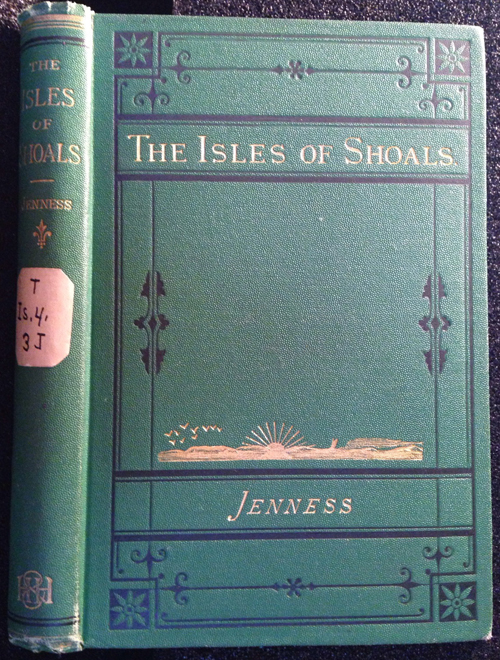 """cover of """"The Isles of Shoals"""" (1873) by John Scribner Jenness"""