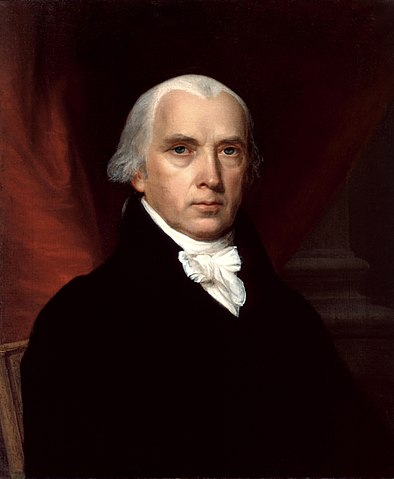presidential portrait of James Madison