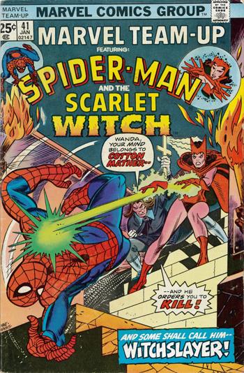 """Marvel Team-Up"" #41 cover"