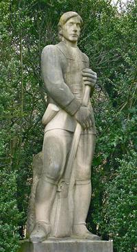 """""""The Puritan"""", part of the Ellen Phillips Samuel Memorial in Philadelphia"""