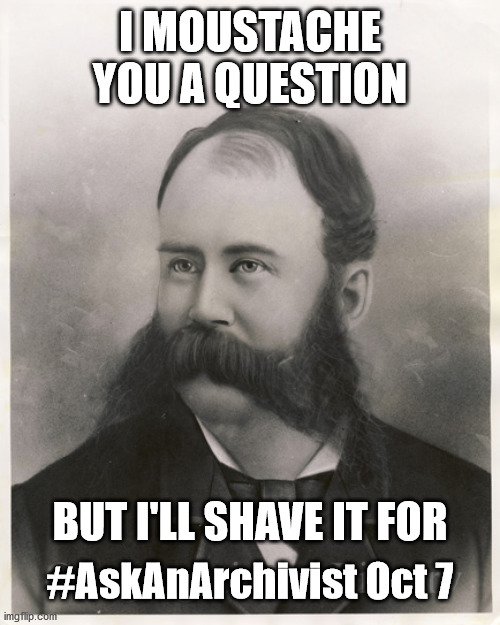 Joseph Ward has a question for the CLA's archivists.