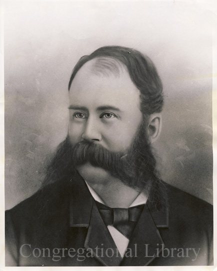 Joseph Ward: An image from a digital CLA exhibit of yestyear about mustachioed gentlemen