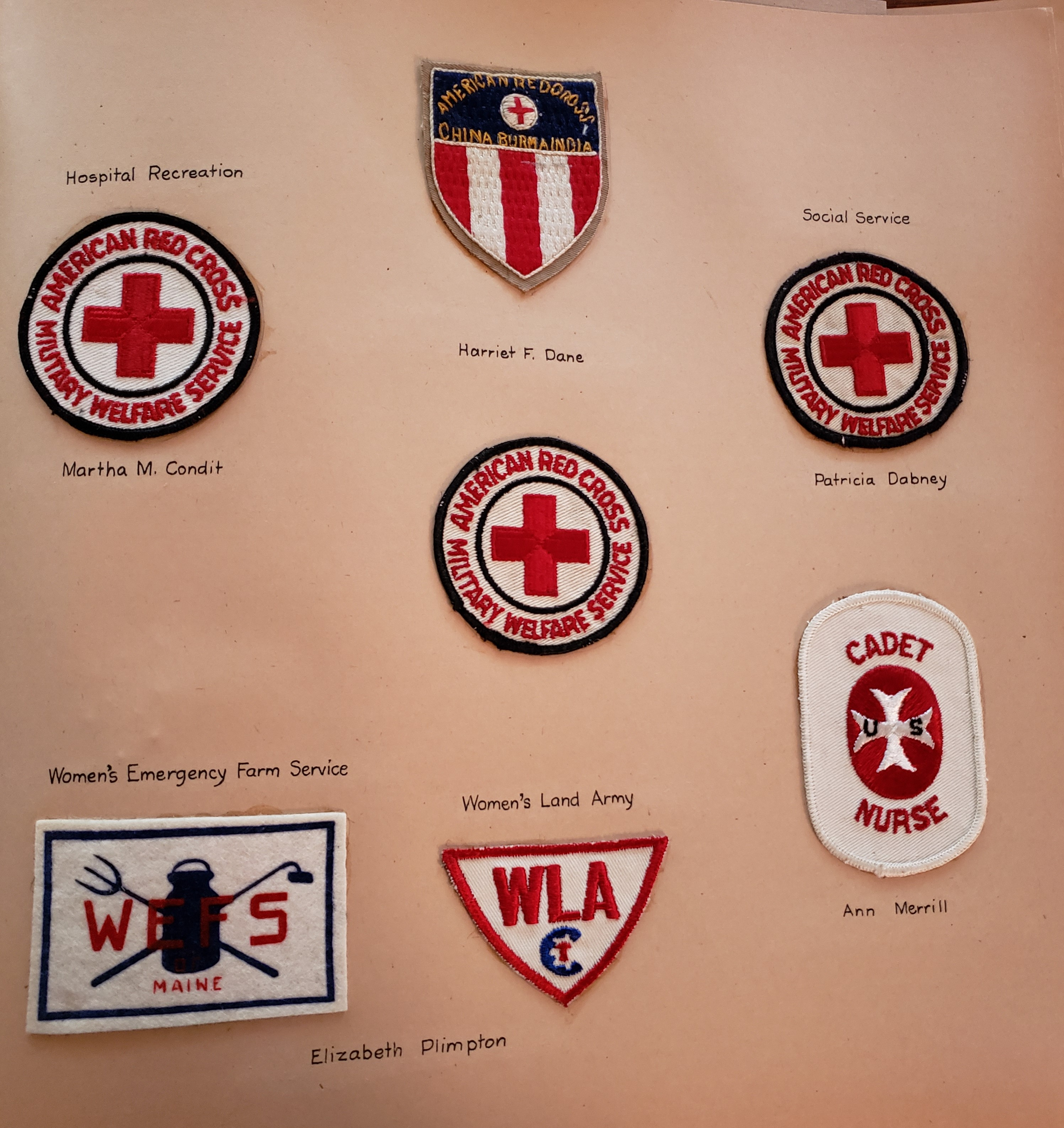 civilian patches