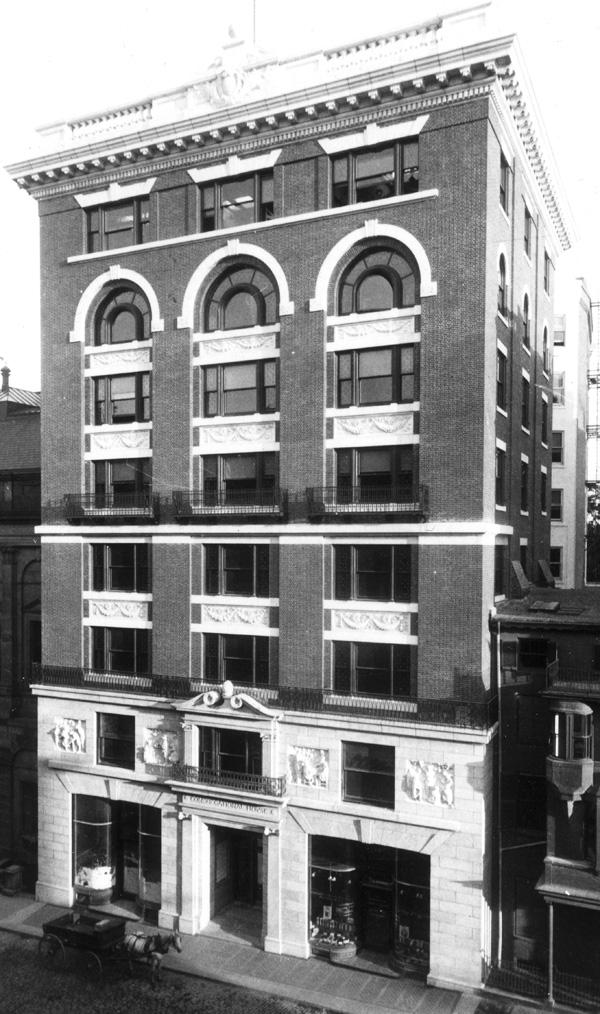Congregational House -- 14 Beacon Street, Boston
