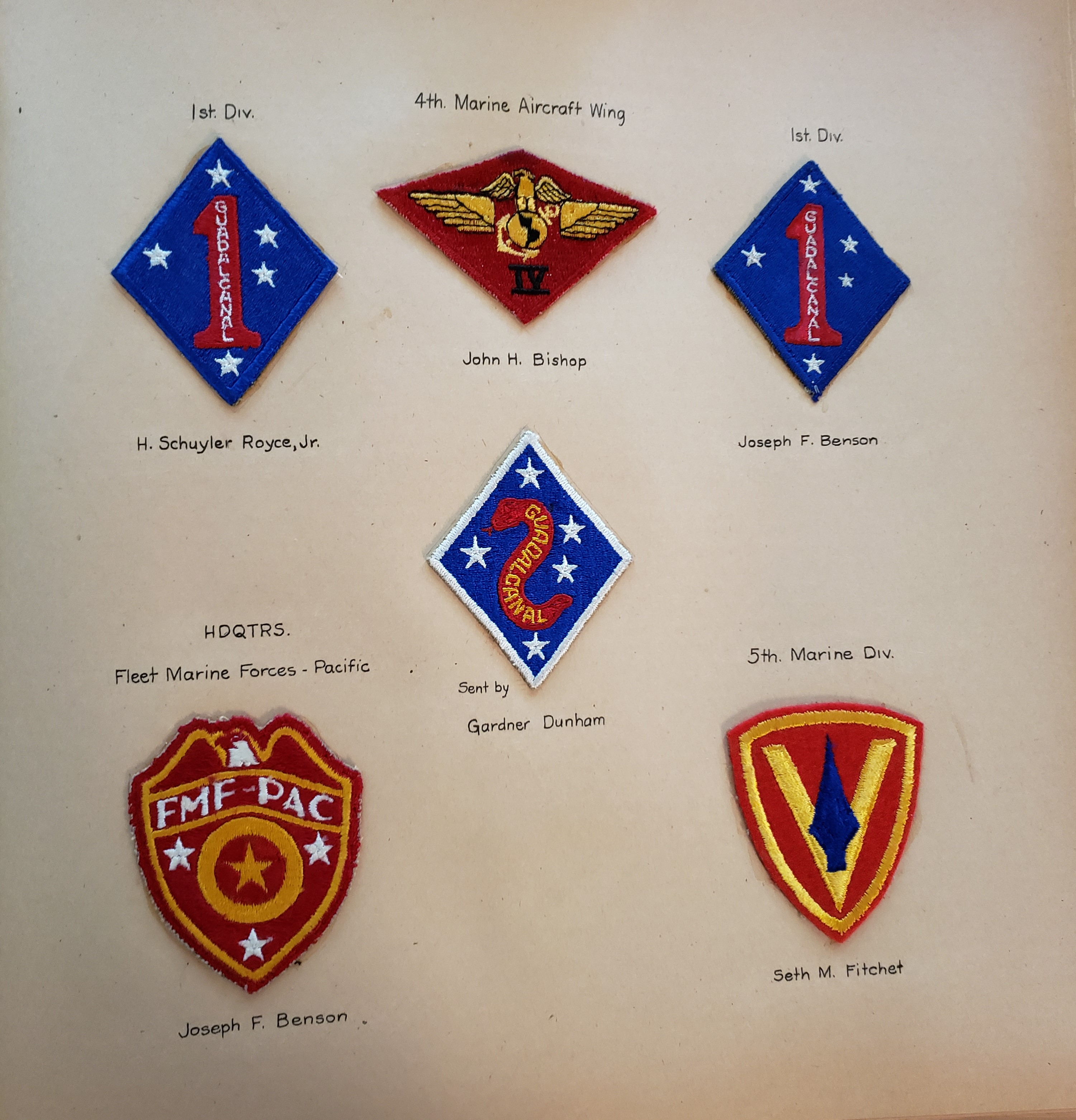 marine patches